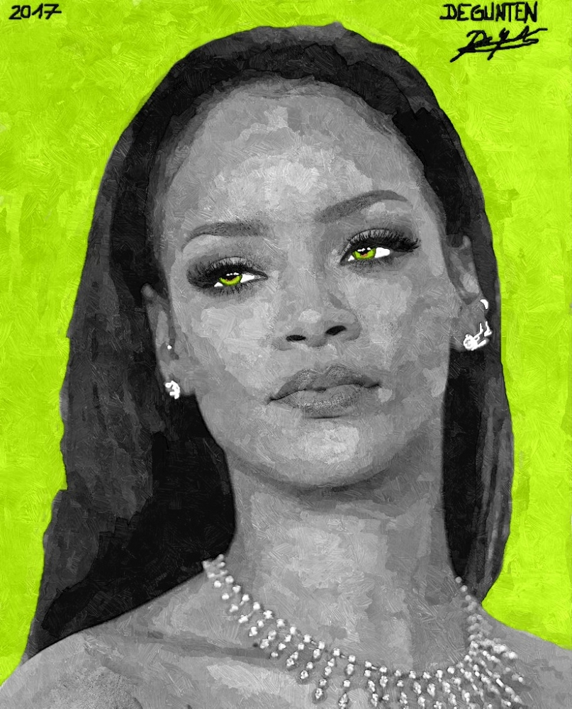 Rihanna by JIM
